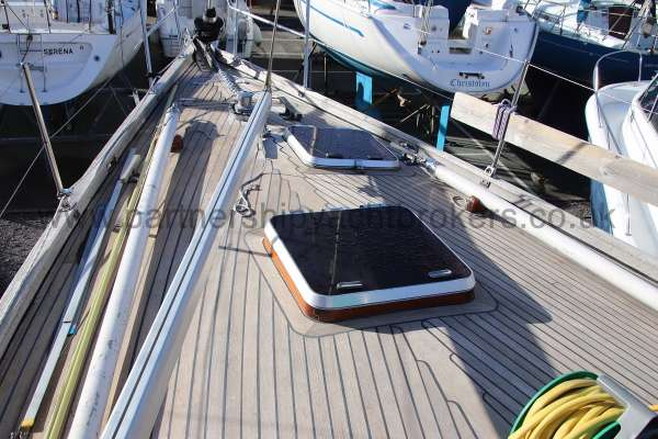 Classic Classic 45  Foredeck view -