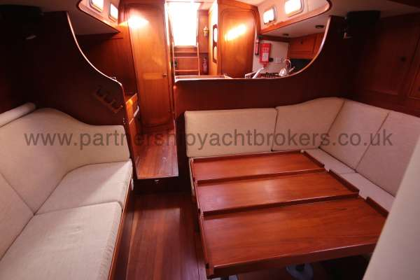 Classic Classic 45  Saloon view - situated on  the port side