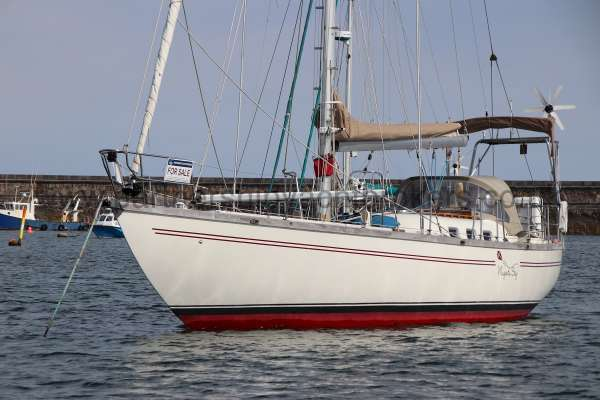Classic Classic 45  On her mooring -