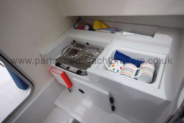 Orkney Pilot House 20 Orkney Pilot house 20  Gas cooker and sink -