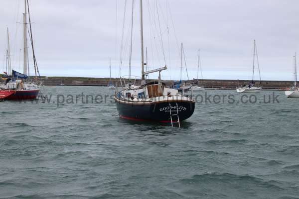 Macwester 27 Afloat - on her mooring