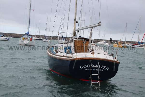 Macwester 27 Afloat - stern view