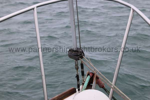 Macwester 27 Furling gear - for the fore sail