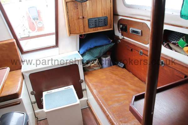 Macwester 27 Saloon view - looking aft