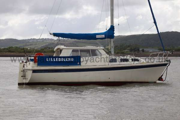 Westerly Konsort Duo Afloat - starboard side