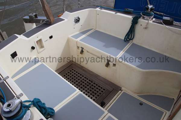 Westerly Konsort Duo The cockpit -