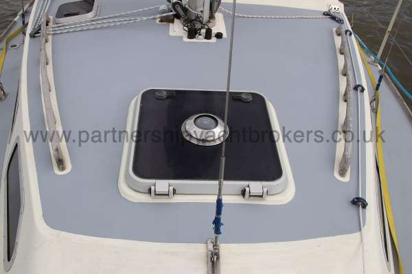 Westerly Konsort Duo Deck view - looking aft