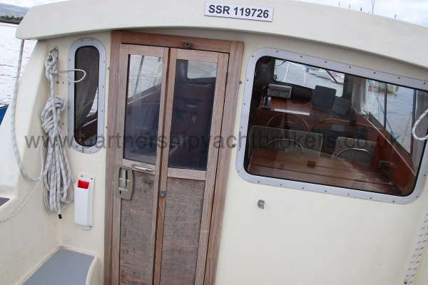 Westerly Konsort Duo Door to the deck saloon -