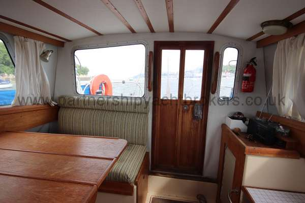 Westerly Konsort Duo The deck saloon - looking aft