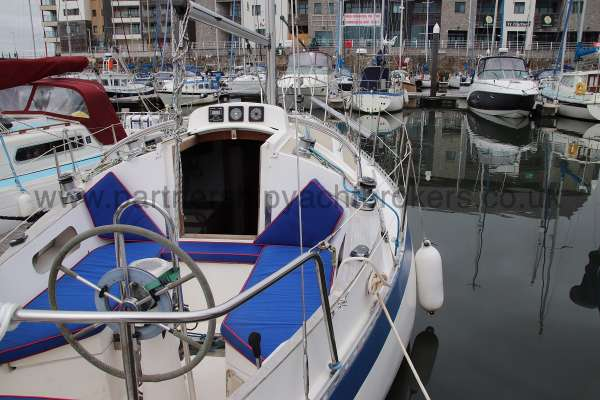 Sadler Phoenix 27 Starboard side view - looking forward