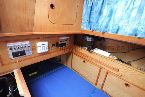 Sadler Phoenix 27 The quarter berth - port side aft