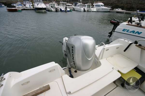 Jeanneau Merry Fisher 585 The engine -
