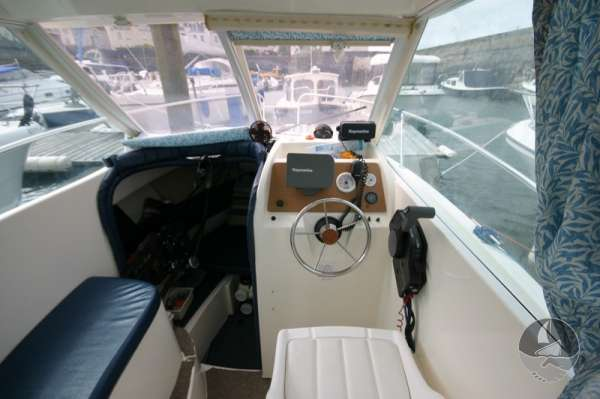 Jeanneau Merry Fisher 585 View from after deck -