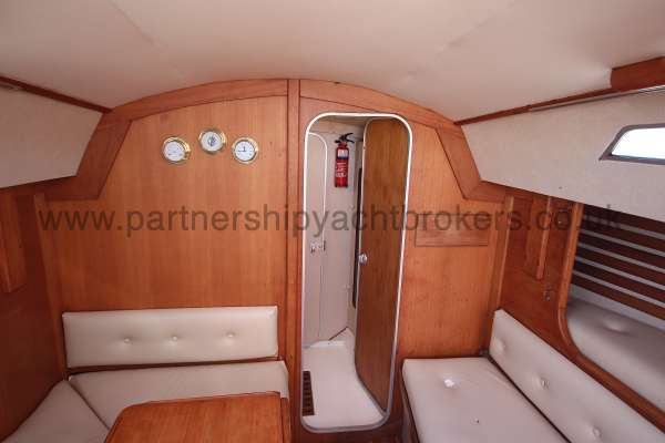 Sigma 33 Saloon view - from aft