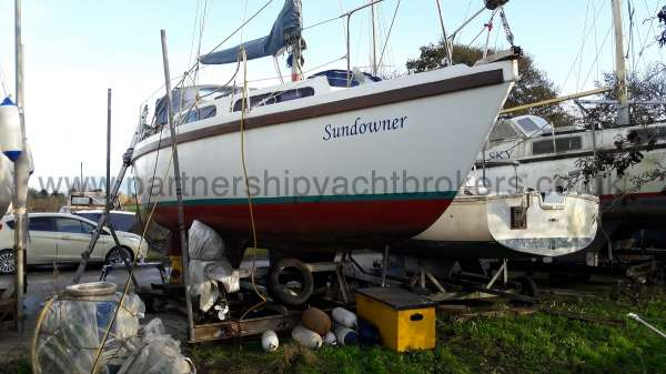 Colvic Sailer 26 Ashore - owners pic