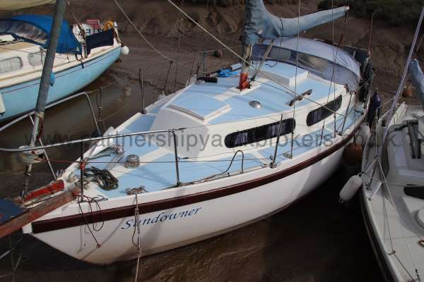 Colvic Sailer 26 Port side view -
