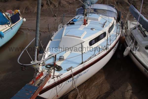 Colvic Sailer 26 Port side - from ashore