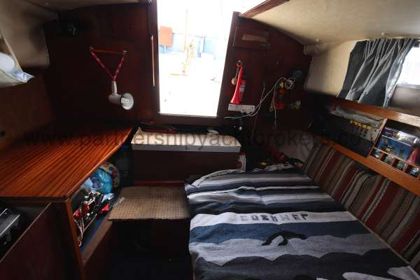 Colvic Sailer 26 saloon view - looking aft