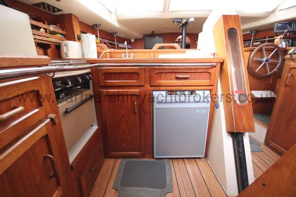 Southerly 105 The galley -