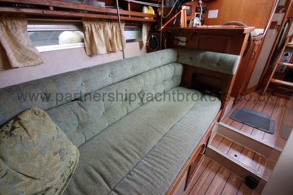 Southerly 105 saloon view - looking aft