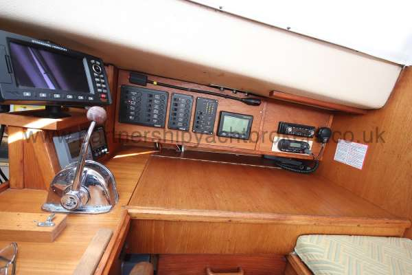 Southerly 105 The chart table -