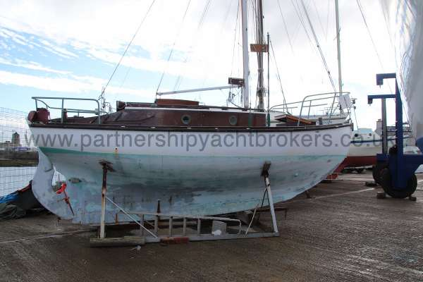 Hillyard Four ton Starboard side -