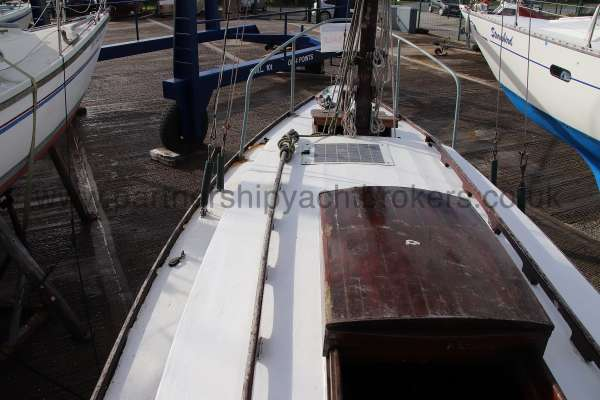Hillyard Four ton Port side deck view -