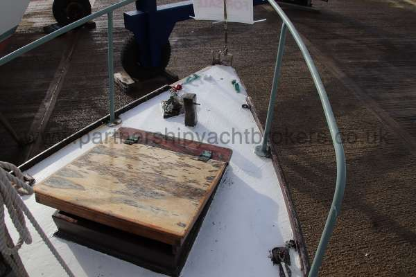 Hillyard Four ton Fore deck view -