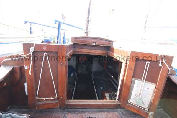 Hillyard Four ton The companionway doors -