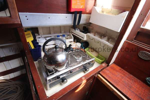 Hillyard Four ton The galley -