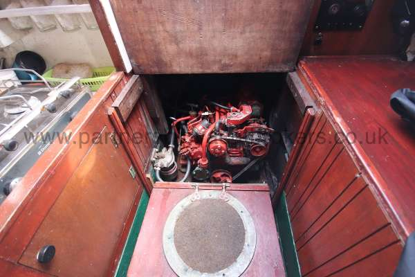 Hillyard Four ton The engine -