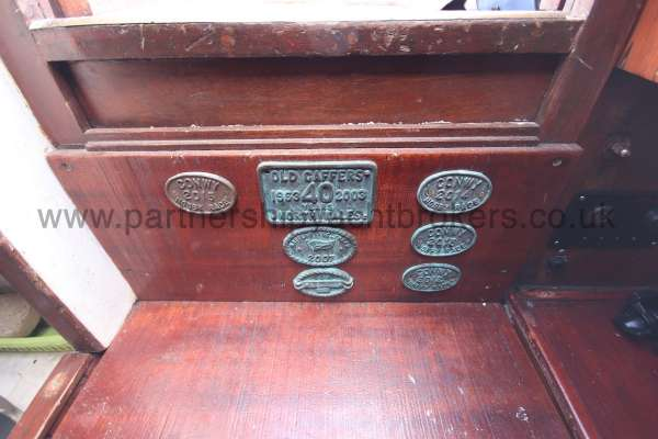 Hillyard Four ton Old gaffers plaques -