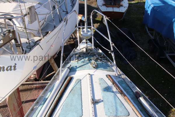 Scampi 30 Fore deck view -