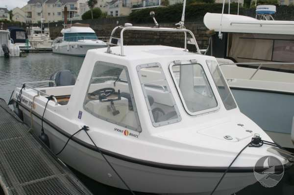 Nord Fisher 170 Alongside without cover -