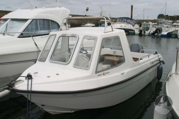 Nord Fisher 170 Port side -