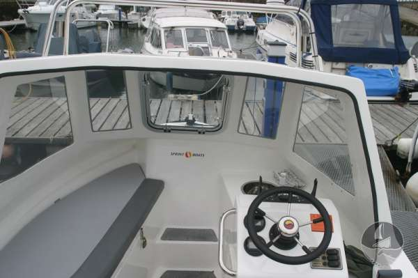 Nord Fisher 170 Under the deck shelter -