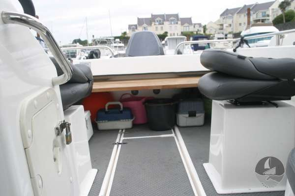 Nord Fisher 170 Looking aft -