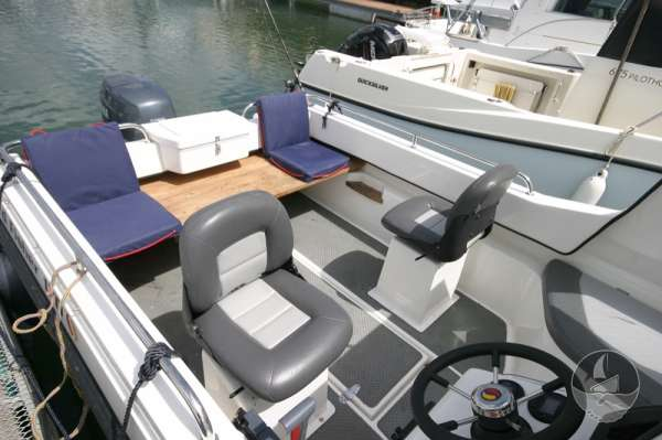 Nord Fisher 170 Deck view -