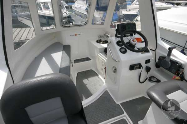 Nord Fisher 170 Interior detail -