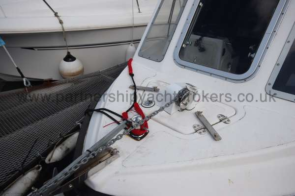 Nord Fisher 170 Electric anchor windlass fitted -