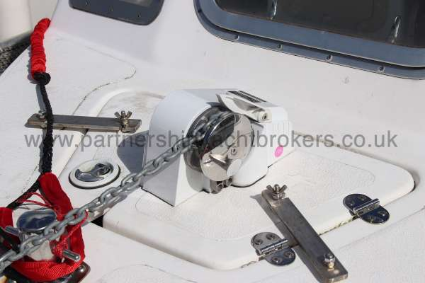 Nord Fisher 170 Anchor windlass -