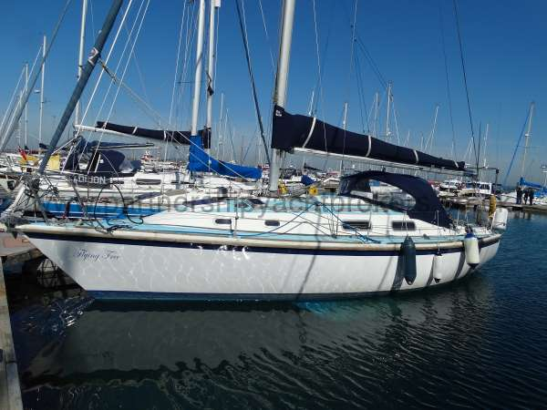 Westerly Fulmar Port side view - owners pic
