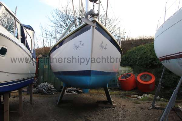 Westerly Fulmar Bow view -