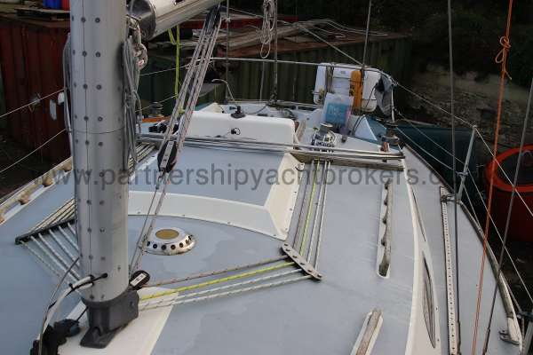 Westerly Fulmar Deck view -