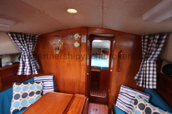 Westerly Fulmar Saloon view - looking forward
