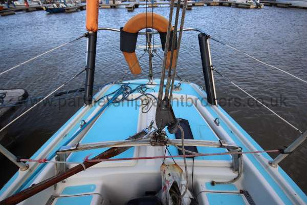 Achilles 24 The after deck -