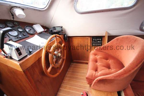 Westerly Vulcan The helm and seat -