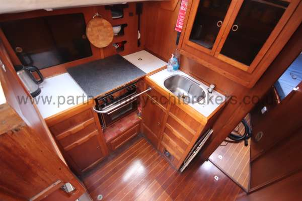 Westerly Vulcan The galley - to port