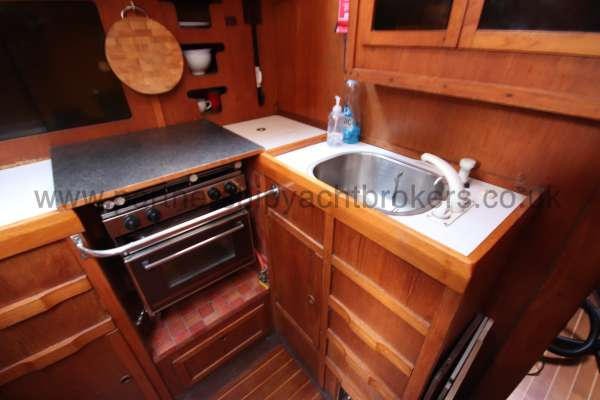 Westerly Vulcan The galley -