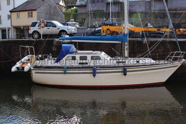 Westerly Vulcan Alongside her berth -
